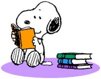snoopy-leyendo