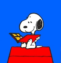 snoopy-reading1