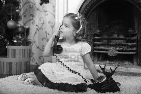little-girl-in-dress-talking